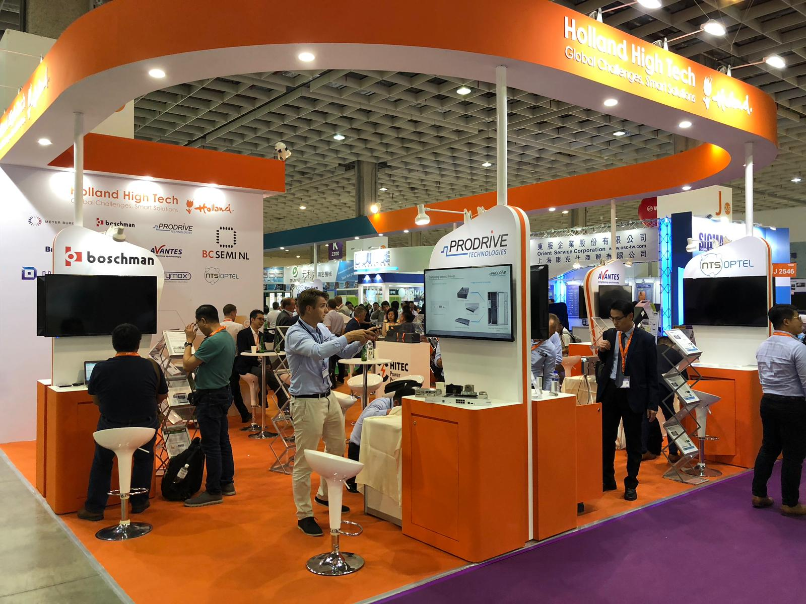 Hollan High Tech pavilion Semicon Taiwan