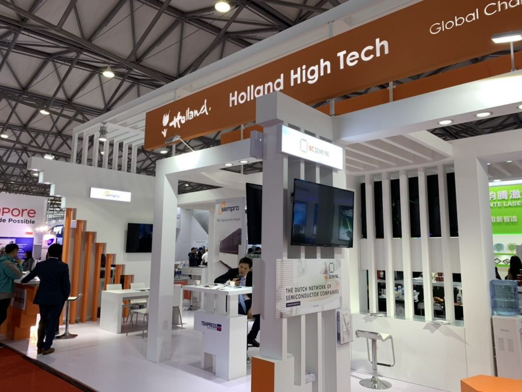 Holland High Tech Pavilion Semicon China 2019